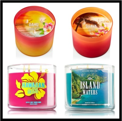 Bath & Body Works Spring Candles